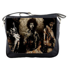 Jimi Hendrix Concert School Messenger Bag Shoulder Travel Laptop Bags Men Women