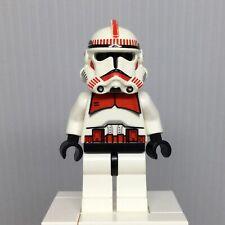 LEGO Star Wars Episode 3 sw0091 Shock Trooper Minifigure Red Markings from 7655