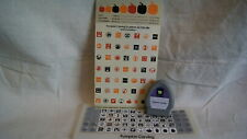 Cricut Cartridge - PUMPKIN CARVING - Gently Used -  No Box  NOT LINKED
