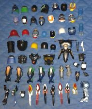 20xx *** LARGE COLLECTION.OF VARIOUS NINJA ARMOUR *** UNKNOWN HELMETS VISORS