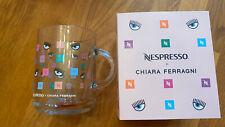 NESPRESSO X CHIARA FERRAGNI Glass Mug Cup 390 ml ~ Limited Edition