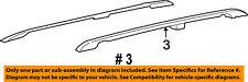 Mercury FORD OEM Roof Rack Luggage Carrier-Side Rail Left 6F2Z1755115BAA
