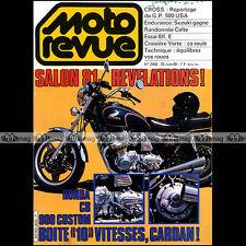 MOTO REVUE N°2468 MOTOBECANE 50 EV ELF E HONDA XLS 250 YAMAHA XT SUZUKI GS 1980