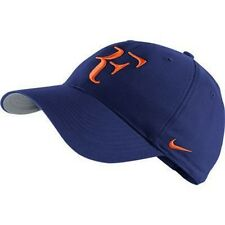 NEW Nike Hybrid RF Roger Federer Hat Deep Royal Blue / Orange 371202-478