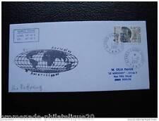TAAF carta 1/12/2001 - sello Yvert y Tellier n°280 (S) (cy2)