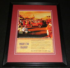 1999 Chevy Tracker Framed 11x14 ORIGINAL Advertisement B