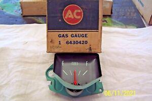 AC GAS GAUGE 6430420  FITS **1966-67  CHEVELLE, MALIBU, EL CAMINO N/O/S* NLA*