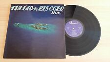 TULLIO DE PISCOPO - LIVE - RARE LP 33 GIRI+LYRICS INNER SLEEVE - ITALY PRESS
