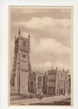 Cirencester Church From SW Vintage Postcard 803a