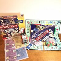 Monopoly Kids Crazy Cash Board Game Hasbro 100% Complete