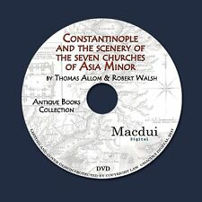 Constantinople and the scenery of the seven churches of Asia 2 PDF E-Books 1DVD