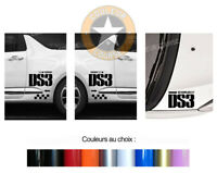 SET DE 3 X LOGOS DECO POUR CITROEN DS3 5.0 KIT AUTOCOLLANT STICKER BD434
