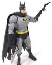 "BATMAN Classic Black and Gray 6"" Figure DC Universe Classics Mattel ALL STARS"