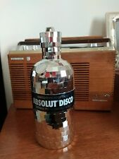 ABSOLUT VODKA DISCO LIMITED EDITION GIFTRACK ,NO ALKOOL