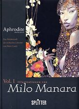 MILO MANARA: APHRODITE HC (deutsche Ausgabe) Hardcover PIERRE LOUYS Splitter