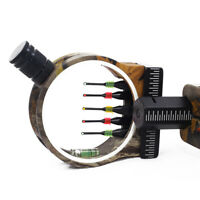 5 pin compound bow sight, quality bow sight with level, quality bow sight