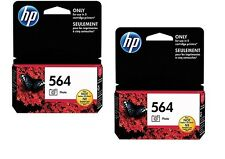 2pack HP 564 Photo Black Ink Cartridges New Generation NEW GENUINE
