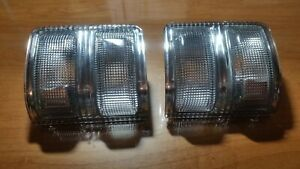 Clear Lens Mirror Lights For 2008-2016 Ford Super Duty F-Series 250/350/450/550
