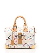LOUIS VUITTON Speedy 30 handbag Monogram multi-color white