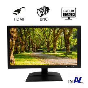 "CCTV Analog 19.5"" 1080P HD Security Monitor 3D-Comb Filter HDMI BNC Input Output"