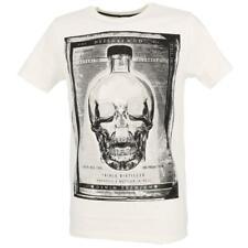 Tee shirt manches courtes Deeluxe Crystal nat mc tee Blanc 90810 - Neuf