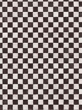 Small .75 Inch Black and White Check Wallpaper AW25127