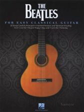 Beatles The for Easy Classical Guitar GTR Tab Solo Bk
