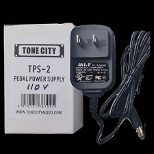 Tone City TPS-2 USA 110V 1A 1000ma Guitar Pedal Power Supply REGULATED, Filtered