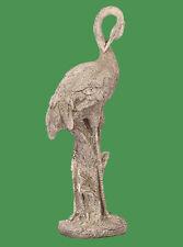 913861 Gartenfigur Gartendeko Kranich Justus grau 61 cm