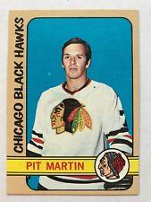 1972/73 Topps Hockey Card #99 Pit Martin Chicago Black Hawks NM+