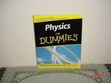 Physics for Dummies by Steven Holzner, PhD/PB/2006/ORIGINAL