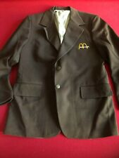 1960's, McDonald's Franchisee Owners Jacket (Brown) Scarce / Vintage