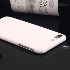 Original 360 Full Body Slim Hard Protector Skin Case Cover F iPhone X 6 7 8 PLUS