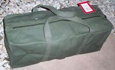 TENT PEG & ROPE BAG - 450mm long - HEAVY DUTY - 14oz. CANVAS - OLIVE....