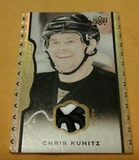 PITTSBURGH PENGUINS SUPERSTAR CHRIS KUNITZ 2 Color #8/35 MINT Stanley Cup Champ