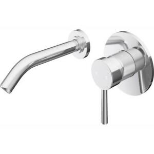 VIGO Wall Mounted Faucet 1/2 in. Bacteria Resistant Easy-to-Install Brass Chrome