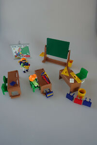 Playmobil Schule Klassenzimmer Puppenhaus