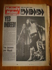 MELODY MAKER 1972 MAR 11 YES JETHRO TULL BEACH BOYS