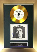 GOLD DISC LIAM GALLAGHER As You Were Signed Autograph Mounted Print A4 156