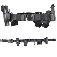 """2"""" Nylon Duty Belt w/ Thumb Release Holster & Mag Pouch for Glock 17 19 22 23 25"""