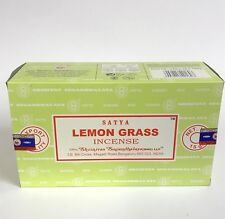 nag champa Satya Lemongrass incense 12 X 15gm Bulk pack