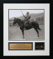 The 'Waler' Light Horseman Commemorative Collage Framed