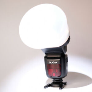 Gold TPT Magnetic Light Mag Sphere Flash Diffuser & Magnetic Band (Magmod Style)