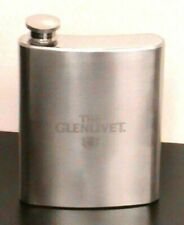 Brand New The Glenlivet Stainless Steel 8oz Collectible Flask