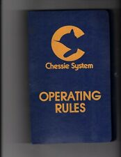 Chessie System Operating rules