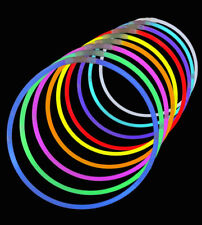 "22"" Glow in the Dark Neon Necklaces Glow Sticks Bracelets Party Favors Halloween"