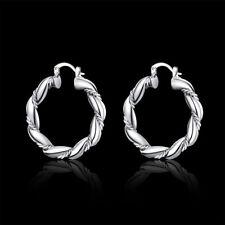 Fashion 925 sterling Silver Pretty cute women lady Earring jewelry Wedding
