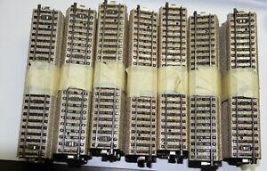 Märklin M-Gleise 5106 siebzig gerade Gleise 180 mm in gutem Zustand