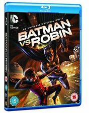 Batman Vs Robin [Blu-ray] [2015] [Region Free] [DVD][Region 2]