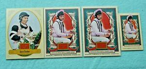 STEVE CAUTHEN LOT OF 4 2012 GOLDEN AGE #125 2013 GOLDEN AGE BASE & MINI #109 JOC